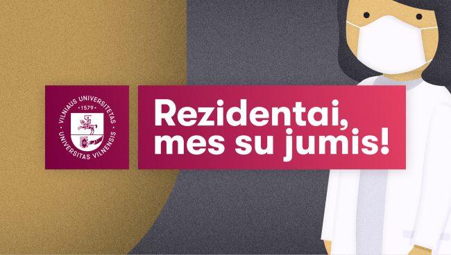 Lėšų Vilniaus universiteto Medicinos fakulteto rezidentų būtinosioms apsaugos priemonėms rinkimo kampanija