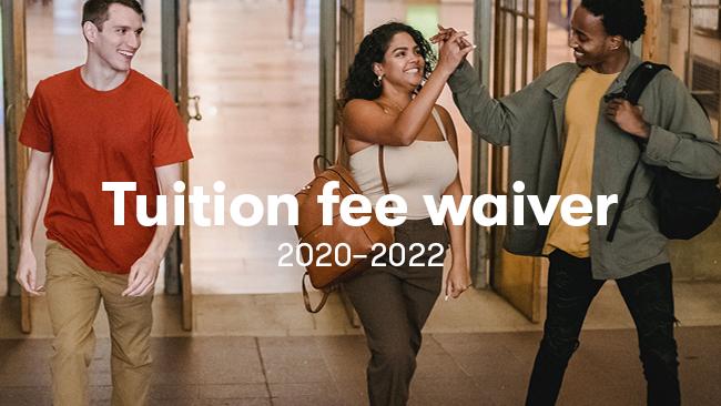 """8 magistrantūros studentų iš ne ES/EEE šalių kofinansavimas, pagal """"Tuition fee waiver"""" programą 2020–2022 m. m."""